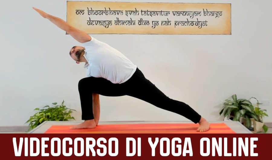Videocorso di yoga online
